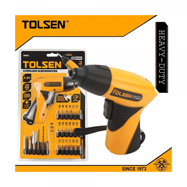 Cordless Drill With Screwdriver