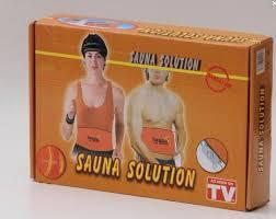 sauna heat slimming ...