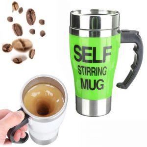 Self Stirring Coffee...